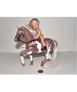 Vintage Mattel Kelly Doll and Loving Family Western Pony Dusty - $12.86