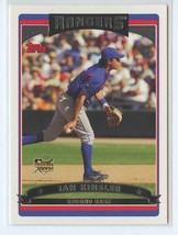 IAN KINSLER RC 2006 Topps #632 Texas Rangers Baseball Sports Cards - $2.25