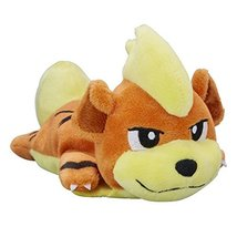 Pokemon Center Original (3.5-Inch) Poke Plush Doll Sleepy Growlithe (Gar... - $75.94