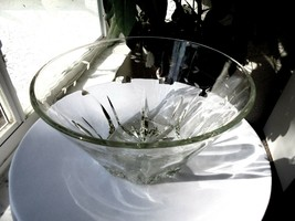 "Princess House Regency Pattern Large Salad Bowl 10"" Wide - $24.75"