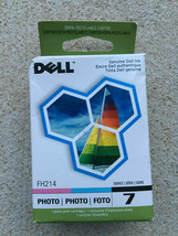 Dell Series 7 FH214 Photo foto Ink Jet Cartridge 966 A966 968 A968 WiFi ... - $24.70