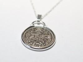 1957 60th Cumpleaños/Colgante moneda de seis peniques aniversario y 50.8cm - $18.02