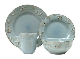 Thomson Pottery 16-pc. Cape Cod Set AQUA BLUE - $75.00
