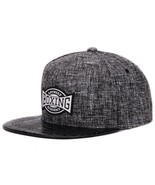 Quality Linen Cotton Mens Snapback Cap - $38.00