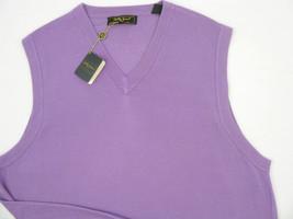 NEW! NWT! $175 Bobby Jones Collection 100% Cotton Vest! XL  *Purple* - $99.99