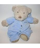 Carter's Made with Love Hugs Bear Musical Blue Plush Stuffed Animal Baby... - $19.78