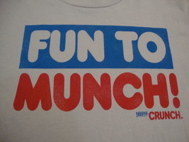 NESTLE CRUNCH Candy Bar Fun To Munch NEW T Shirt Men's Size M - $11.73