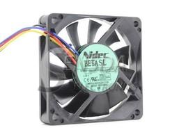 Nidec D07R-12T3U 7015 12V 0.29A chassis fan hydraulic bearing PWM cooling fan - $7.99