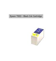 EPSON T003 Black Ink Cartridge Genuine Printer BLACK Ink for Color 900/900G - $10.86