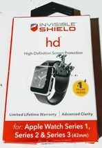 ZAGG (3373) InvisibleShield HD Screen Protector For Apple Watch for Series 1/2/3 - $9.80