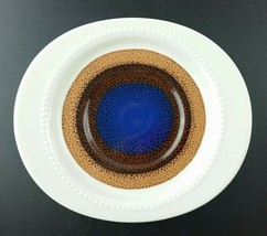 5 Rosenthal Continental TRIO Saucer Studio Line blue brown mid-century M... - $24.74