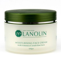 JYP New Zealand Lanolin Moisturizing Face Cream with Vitamin E and Aloe ... - $16.95