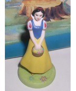 Snow White Porcelain Bisque Disney Figurine Snow White & seven Dwarfs Sh... - $29.99