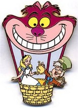 Cheshire Cat Alice Mad Hatter Hot Air Balloon Authentic Disney  on ca - $89.99