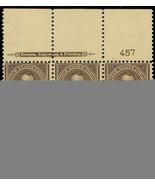 269 Wide Top Plate Block of Six Mint OG NH/LH Cat $775.00 - Stuart Katz - $400.00
