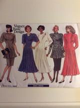 Vintage Vogue Pattern 1942 Misses Dress, Tunic, Skirt Size 8-12 - $24.95