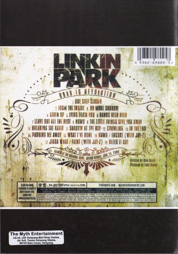 road to revolution Linkin park: road to revolution, live at milton keynes blu-ray (2008): starring chester bennington, rob bourdon and brad delson.