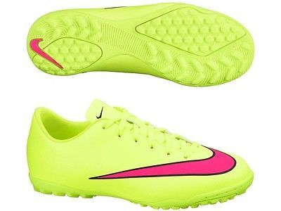 b78d8e1e959db NIKE MERCURIAL VICTORY V TF JUNIOR YOUTH INDOOR SOCCER FUTSAL SHOES  Volt/Black/H