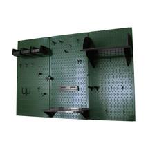 4ft Standard Tool Storage Kit - Green Toolboard & Black Accessories - $166.59