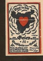 Austria Gutschein d. GRIES am Brenner  50 heller 1920 - $6.00