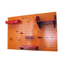 4ft Standard Tool Storage Kit - Orange Toolboard & Red Accessories - $168.59