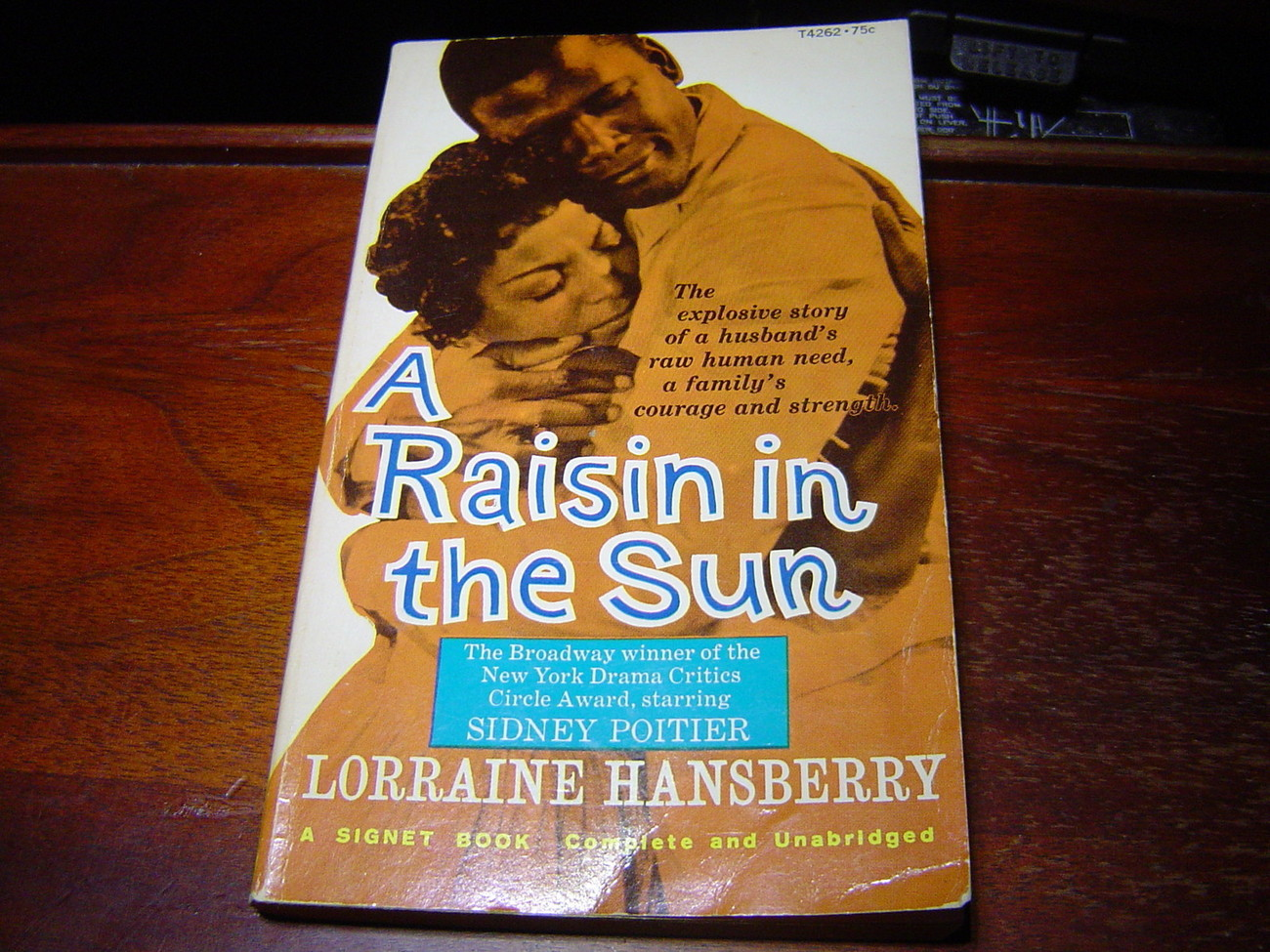 A RAISIN IN THE SUN by Lorraine Hansberry SOFTCOVER GOOD CONDITION