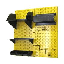 4ft Standard Tool Storage Kit - Yellow Toolboard & Black Accessories - $168.59