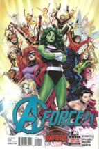 Avengers Secret Wars A-Force Issue #1 Jorge Molina NM - Marvel Comics 2015 - $9.50
