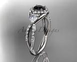 Leafring321 white gold  platinum  diamond wedding ring  diamond engagement ring  black diamond  1 thumb155 crop