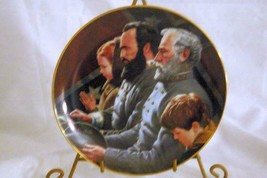 Danbury Mint 1993 The Generals Were Brought To Tears Collector Plate Box COA - $16.37