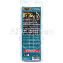 PurTest® Iron Hardness Plus Water Test Kit 8 tests in one kit - $16.28