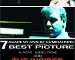 The Insider [DVD] (2000) Russell Crowe; Al Pacino; Christopher Plummer; Diane...