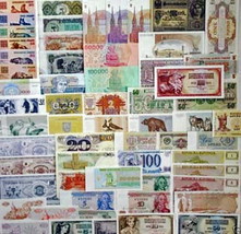 Europe Special set,59 different Banknotes,18 different Countries,Uncircu... - $39.19