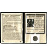 Tibet Silver Tanka Coin of the Dalai Lama with Album And Certificate - $670,96 MXN