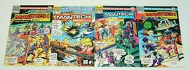 ManTech: Robot Warriors #1-4 VF/NM complete series DICK AYERS archie com... - $18.99