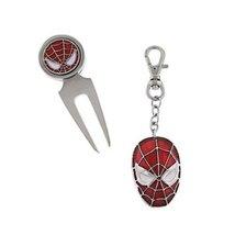 The Amazing Spiderman Golf Tool And Enameled Key Ring Box Set [Jewelry] - $16.34