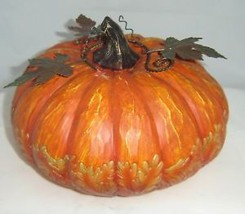 Thanksgiving Pumpkin Garden Table Decor Polyresin image 3