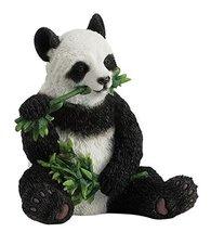 "3.5"" Panda Bear Eating Nature Wildlife Animal Statue Collectible Wild Sc... - $23.00"