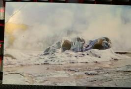 Vintage Post Card - Grotto Geyser Cone - Upper Geyser Basin - Yellowstone Park