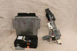2007 Nissan Titan 4x2 ECU ECM Computer BCM Ignition Switch W/ Key MEC74-531-A1 image 6
