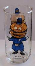McDonald's Collector Series Big Mac Drinking Glass Tumbler 16oz - $8.75