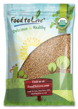 Food To Live® Wheat Berries, Hard Red (Organic)... - $52.99