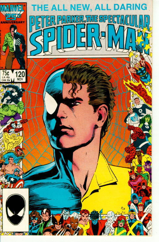 SPECTACULAR SPIDER-MAN #120 (1976 Series)