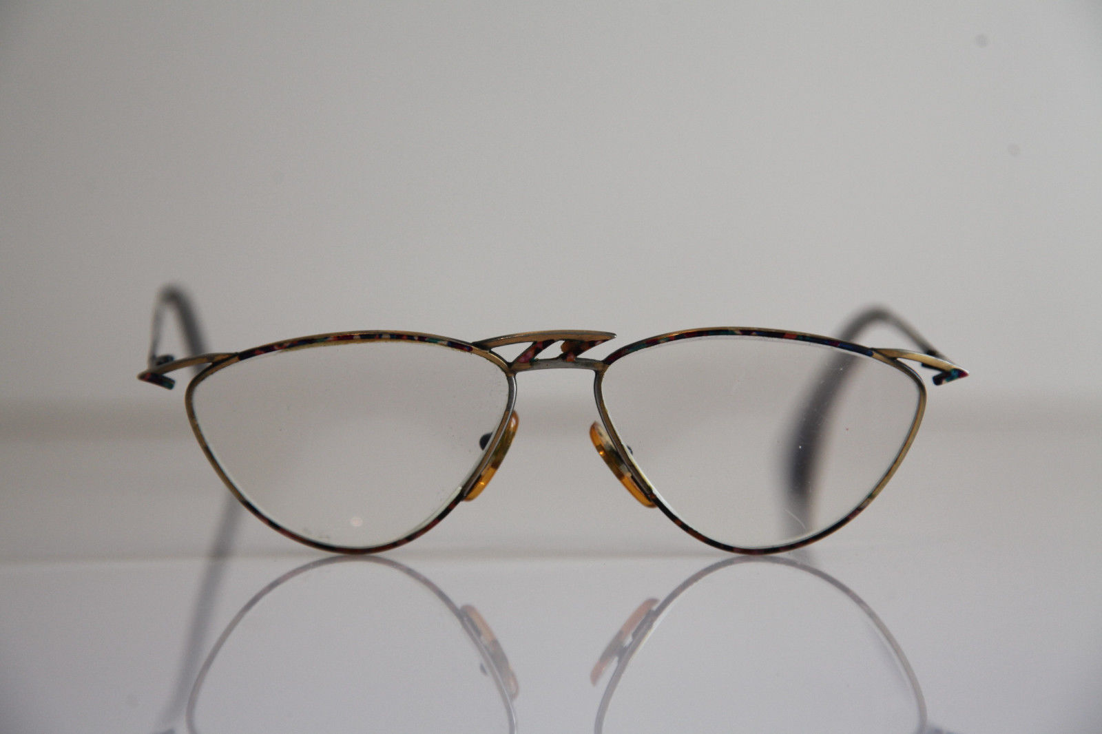 taxi eyewear gold frame rx able prescription lenses