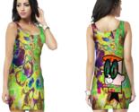 Hallucinate dexter dmt psychedelic bodycon dress thumb155 crop