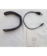Fitbit Charge HR Wireless Activity Wristband  Black Small For Parts Only - $13.29
