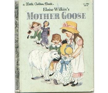 4 LITTLE GOLDEN BOOKS: Disney & non Aristocats/Brave Little Tailor/MOTHER GOOSE+