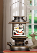 Bronze Musical Lantern with LED Lit Christmas Village - $79.95