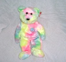Ty B. B. BIRTHDAY BEAR Beanie Buddy Plush NEW WITH TAG! 2000 - $14.96