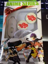 Anime naruto Akatsuki red cloud luminous earphone - $13.00
